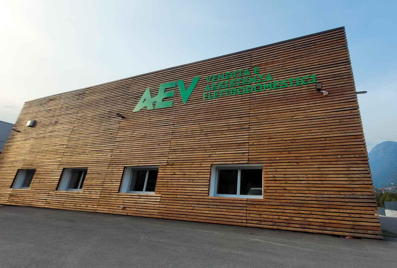 sede AEV assistenza elettrodomestici Sondrio